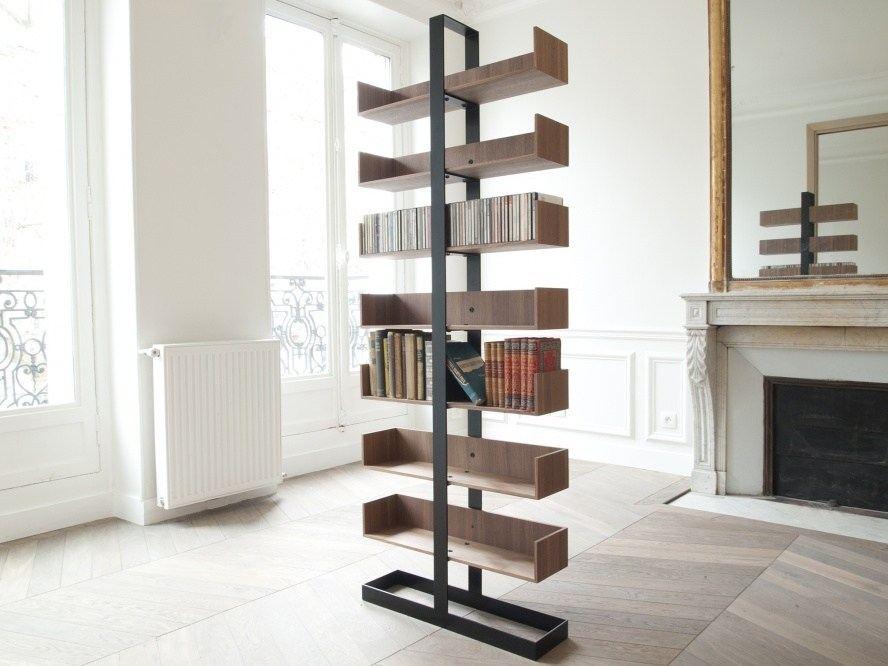 Severin Freestanding Bookcase by Alex de Rouvray Design