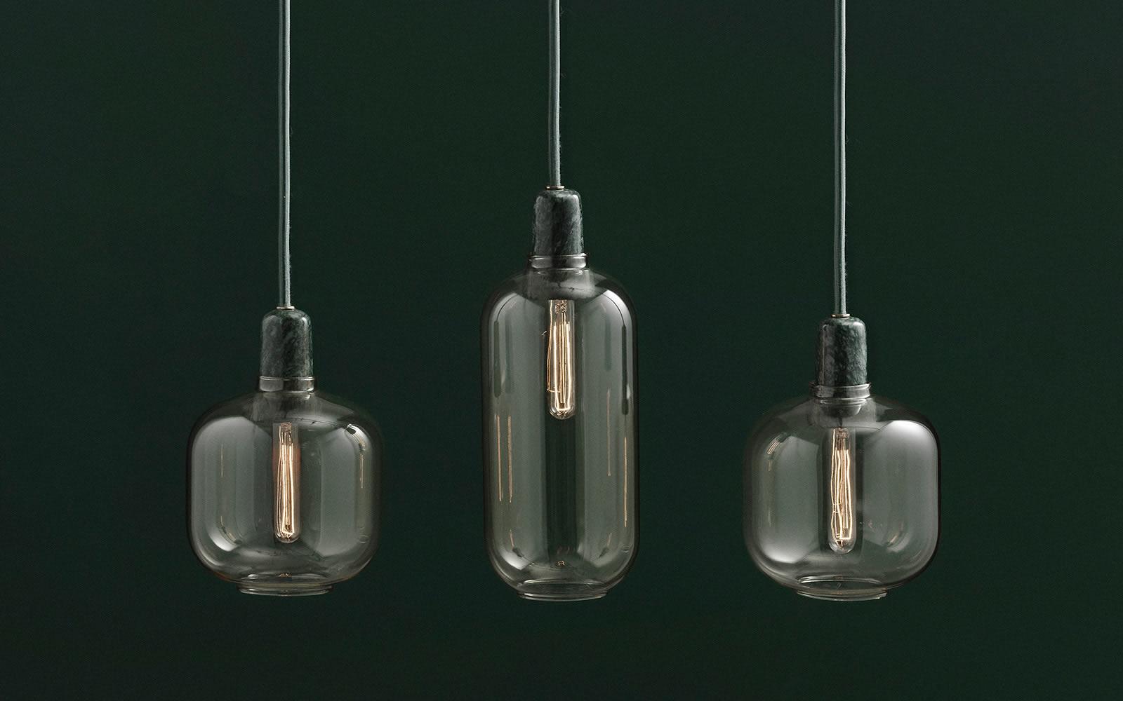 amp lamps by simon legald for normann copenhagen sohomod. Black Bedroom Furniture Sets. Home Design Ideas