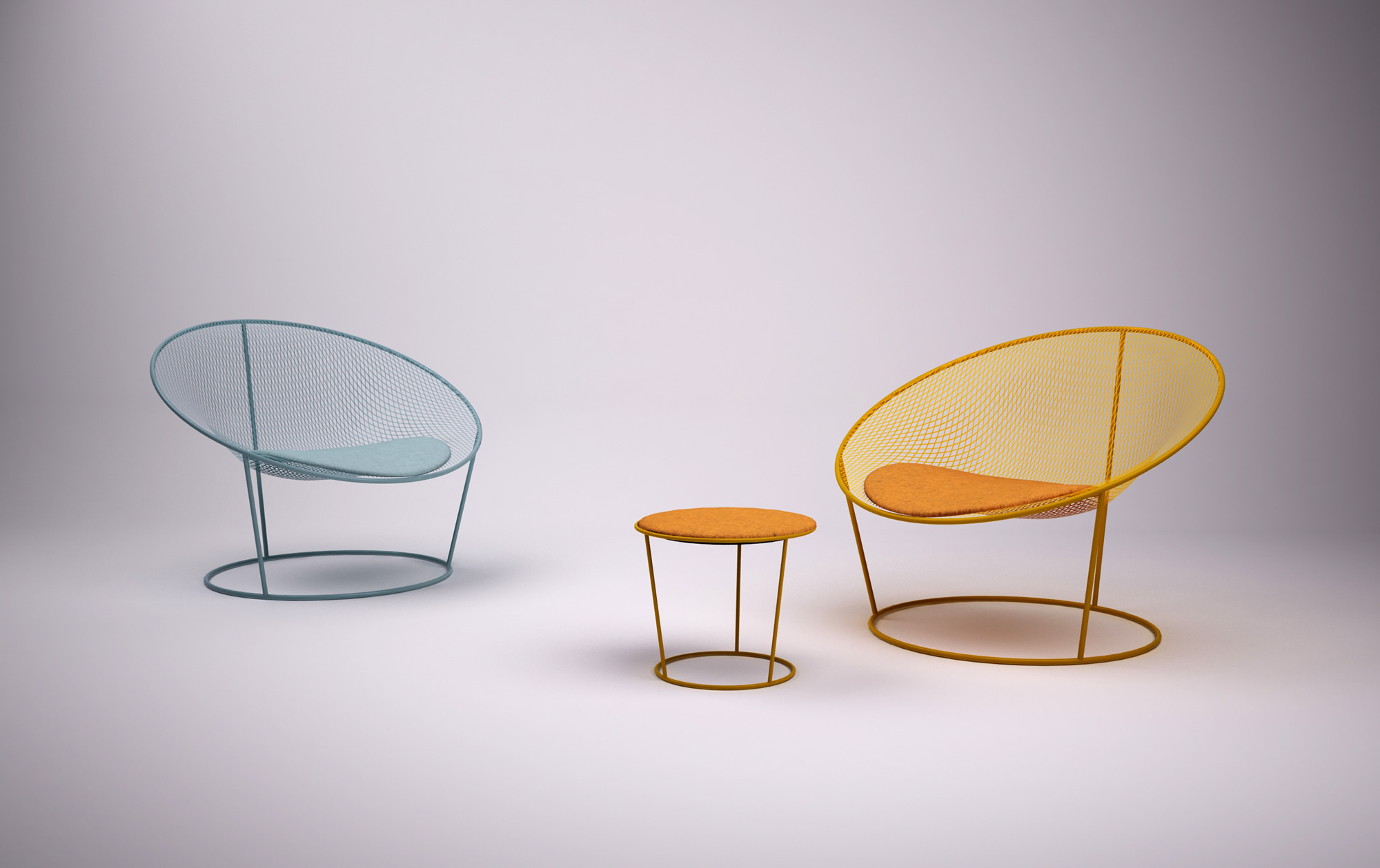 CIRCLE Outdoor Collection by Alexandre Dubreuil