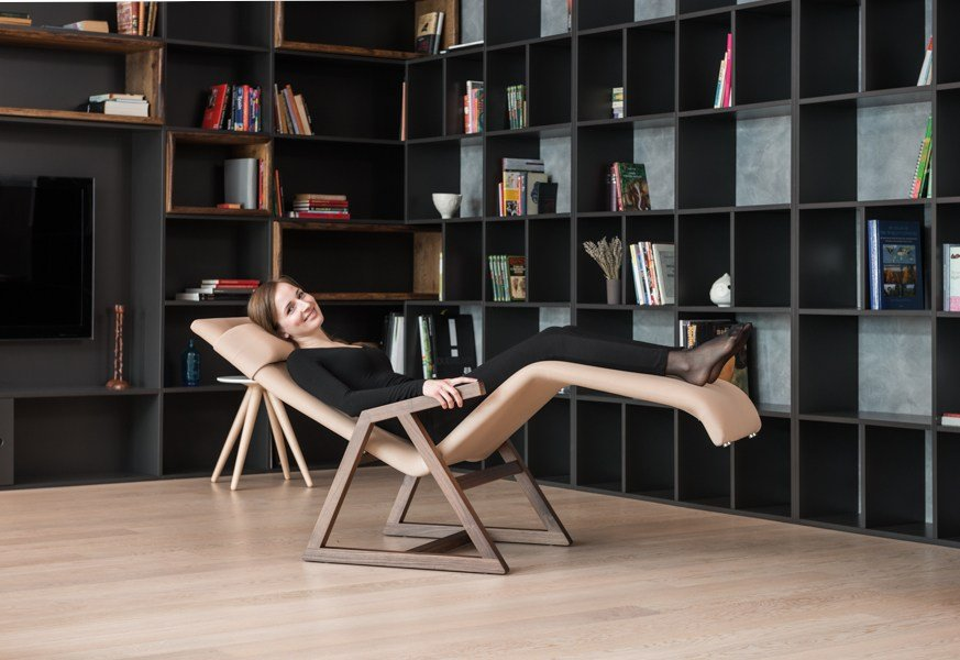 Easy Chaise Lounge by LINA