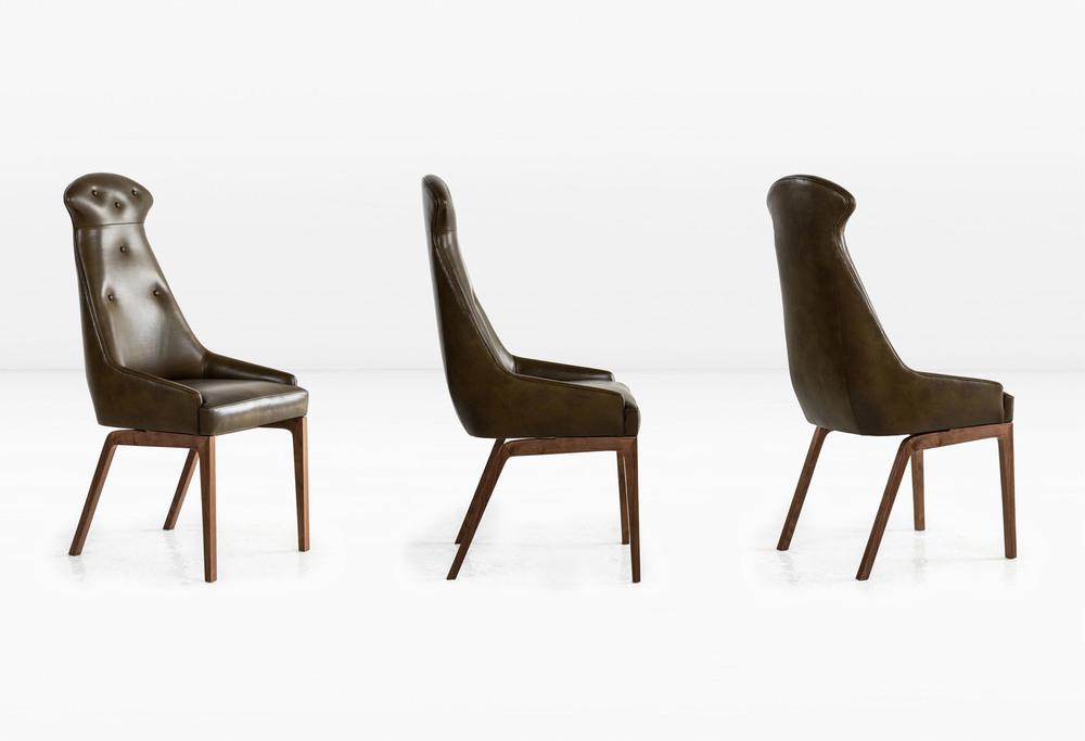 Evander Dining Chair by Khouri Guzman Bunce Lininger