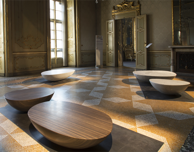 Librastone Coffee Table by Emmanuel Babled