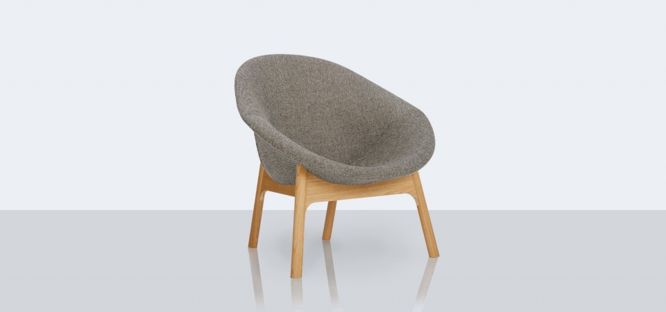 Lily Lounge Chair by Michael Sodeau for Modus