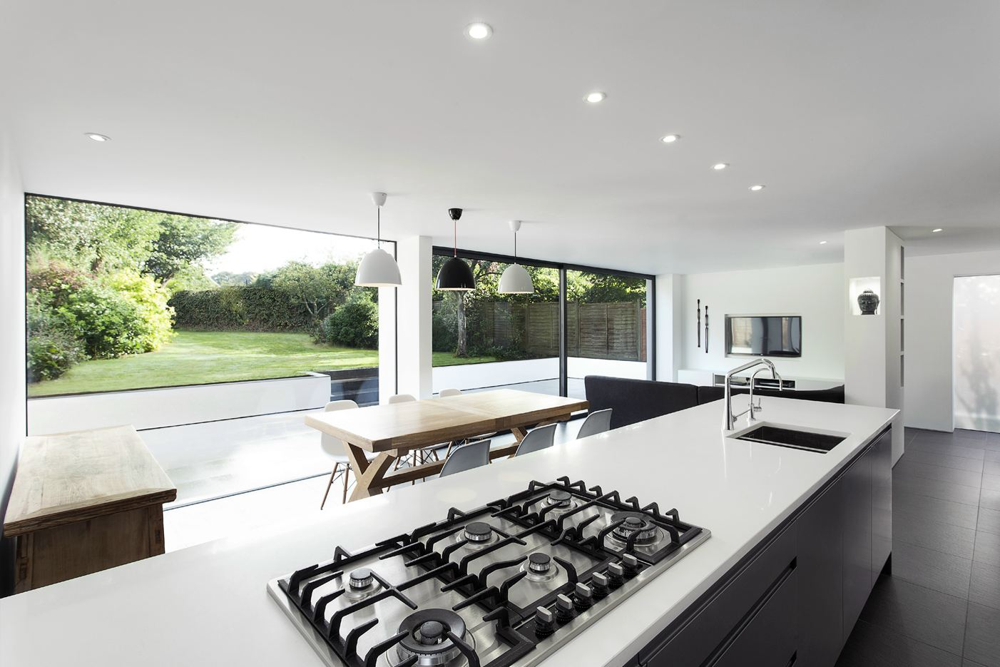 The Medic's House in Winchester, UK by AR Design Studio