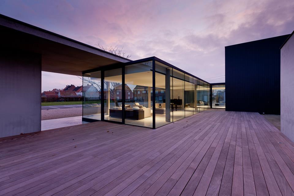 Obumex Outside Showroom in Staden, Belgium by Govaert & Vanhoutte Architects