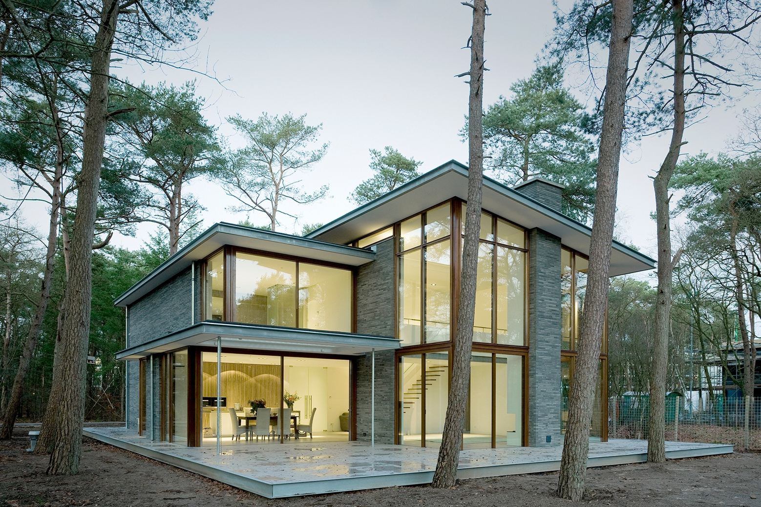 Villa Kerckebosch in Zeist, Netherlands by Engel Achitecten