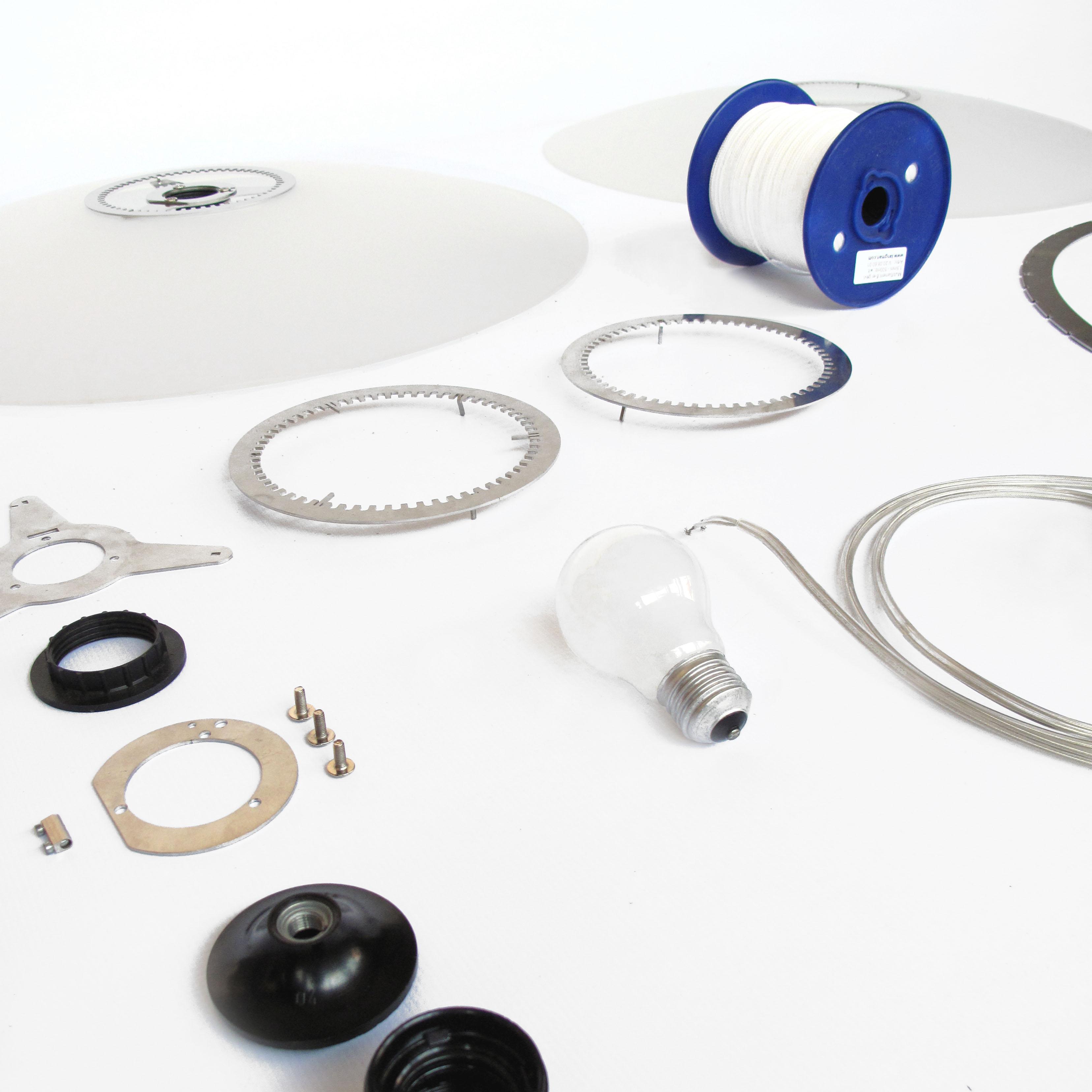 Disque Lamp by Marc Th. van der Voorn