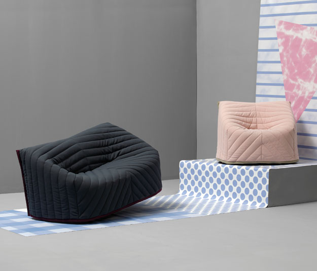 Barnaby Sofa & Chair by Perrine & Gilles for Sancal