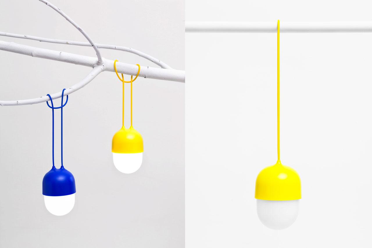 Clover Small Lamp by Ionna Vautrin for Lexon