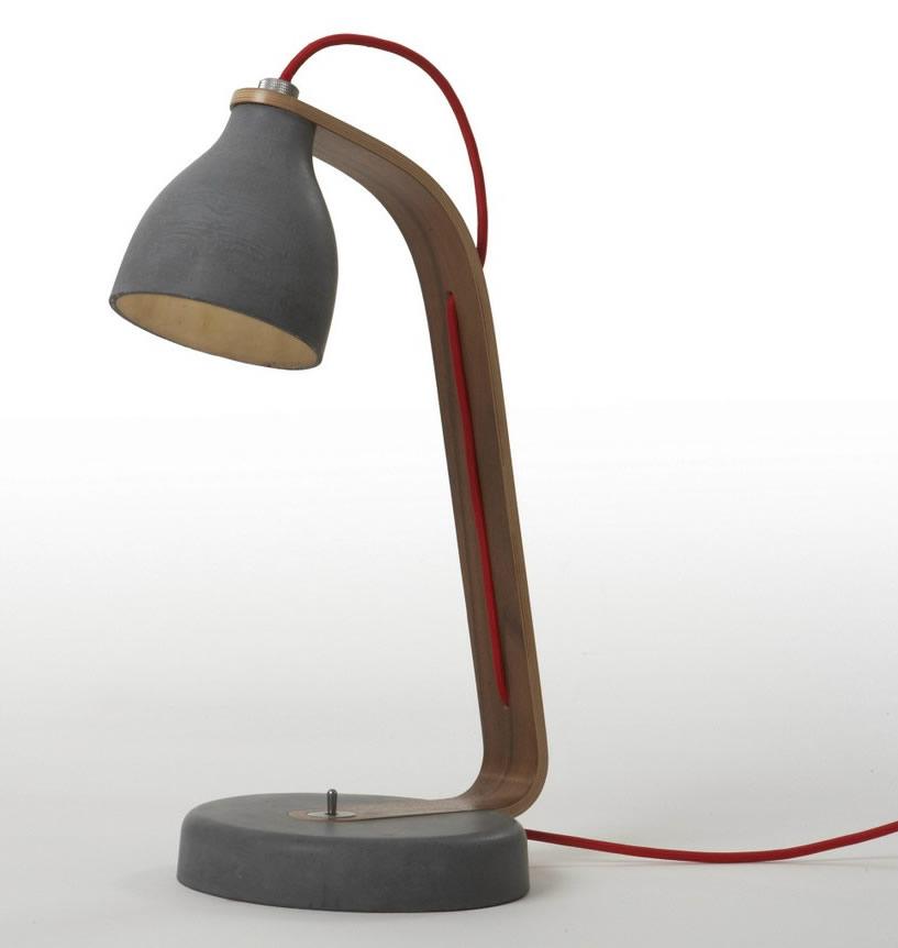 Heavy Desk Light by Decode London