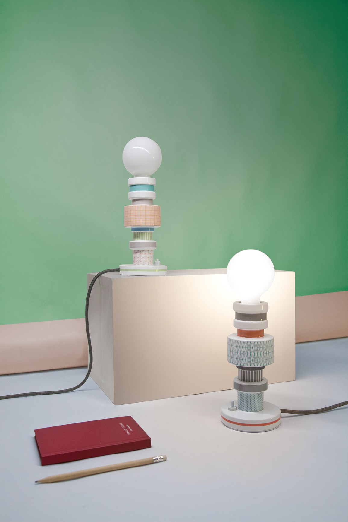 Moresque Table Lamp by Alessandro Zambelli for Seletti
