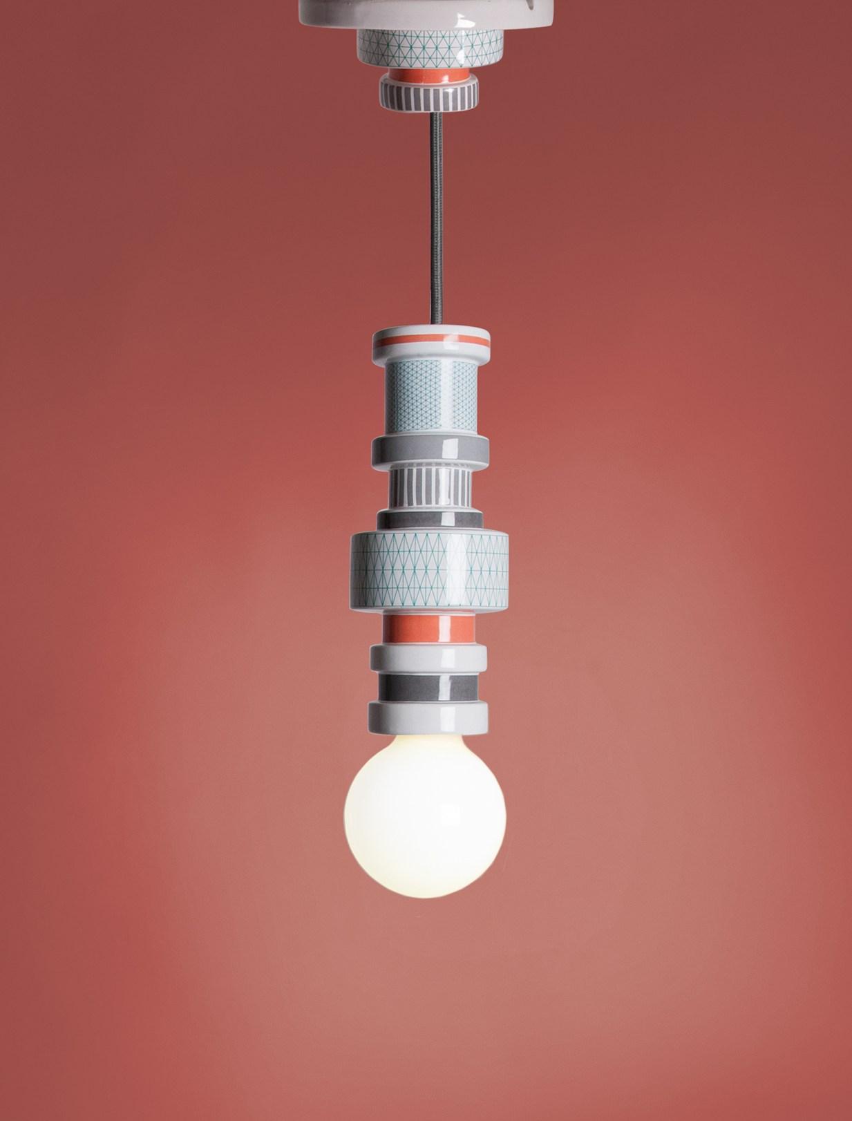 Moresque Pendant Lamp by Alessandro Zambelli for Seletti