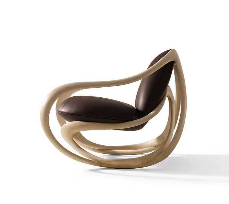 Move Rocking Chair by Giorgetti