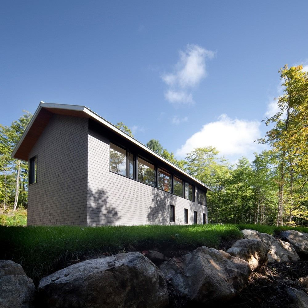 Panorama House in Sainte-Adèle, Canada by Blouin Tardif Architecture
