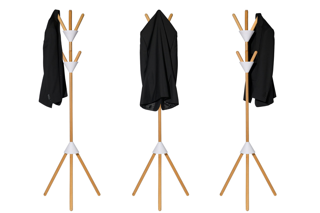 Pierrot Coat Stand by Pauline Deltour