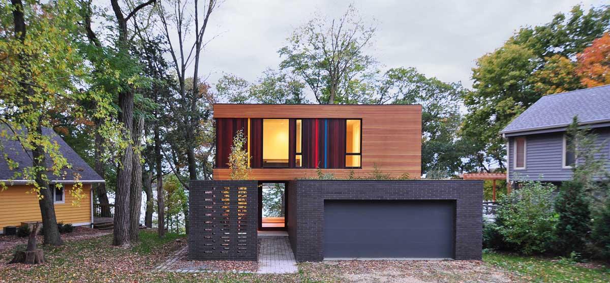 Redaction House in Oconomowoc, Wisonsin by Johnsen Schmaling Architects