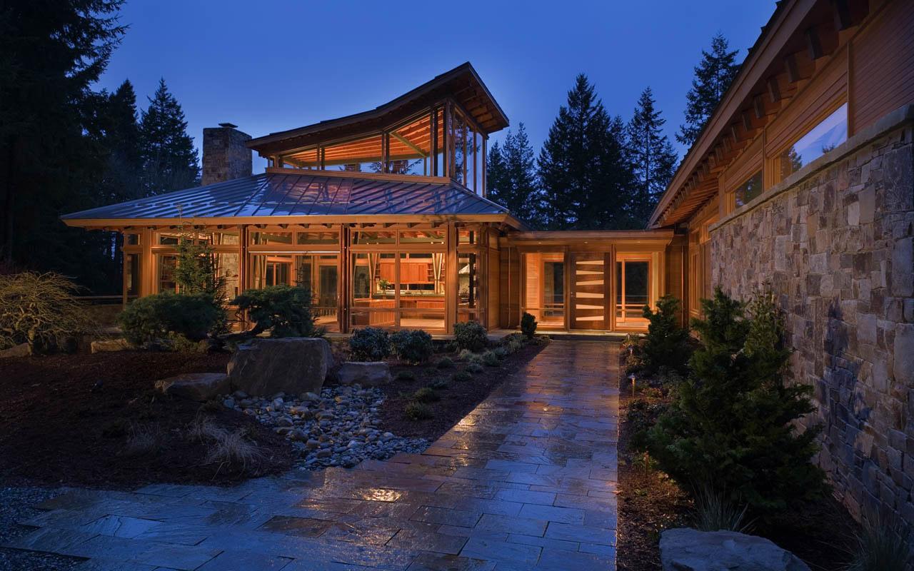 Redmond residence in seattle by finne architects sohomod for Case prefabbricate americane in legno