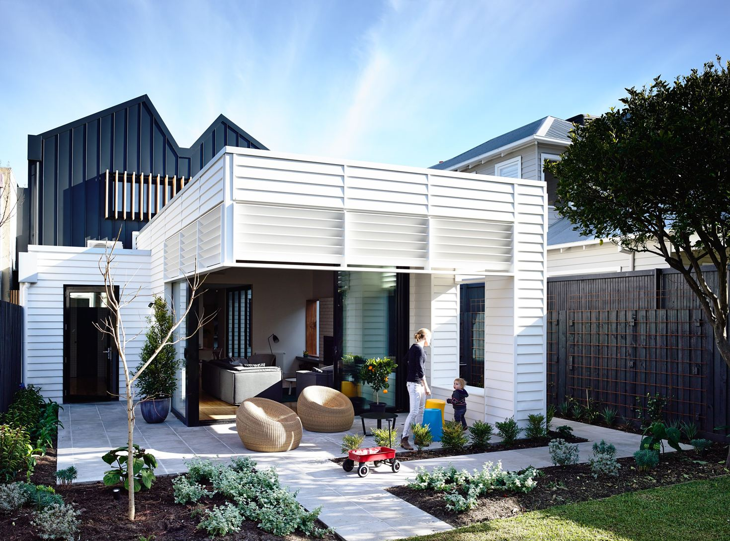 Sandringham Residence in Auckland, New Zealand by Techne Architecture + Interior Design & Doherty Design Studio