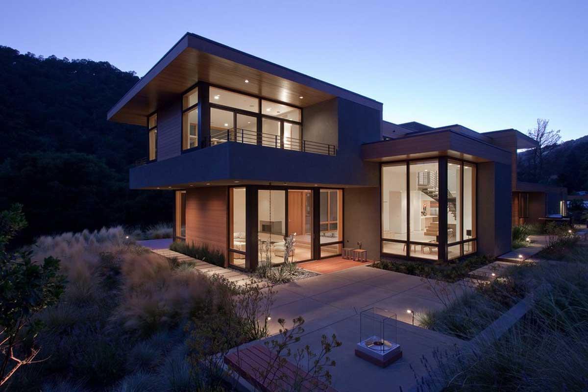 Sinbad Creek Residence in Sunol, California by Swatt | Miers Architects