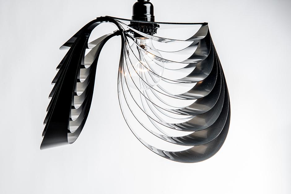 THREE Pendant Lamp by Stuart Fingerhut