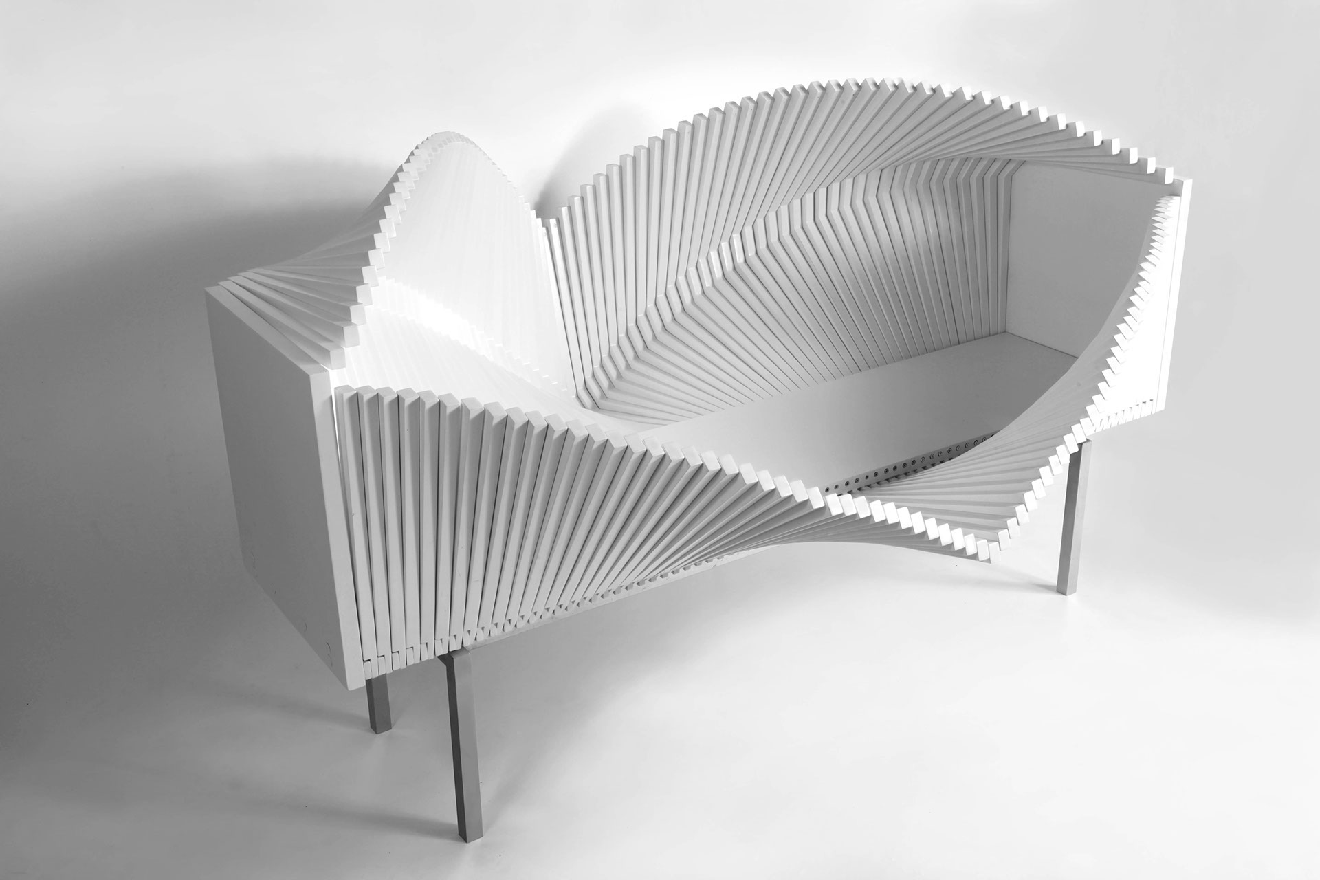 Wave Cabinet by Sebastian Errazuriz