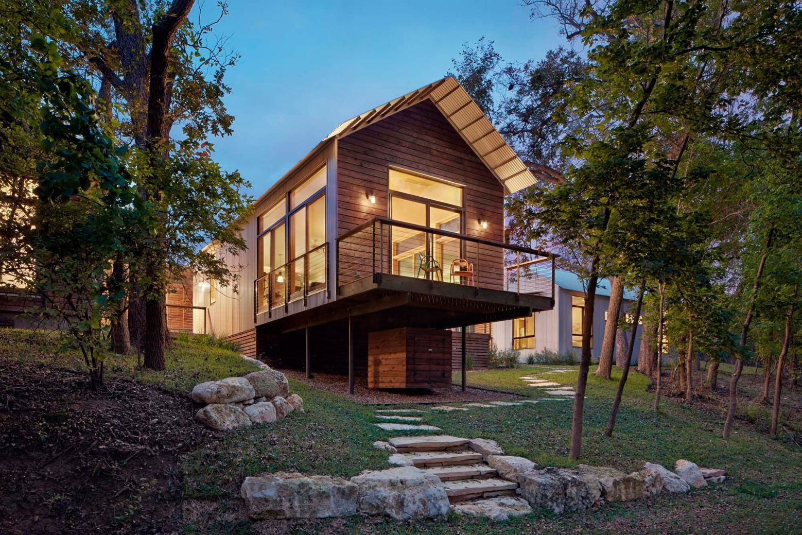 2001 Odyssey Residence in Wimberley, Texas by Lake|Flato