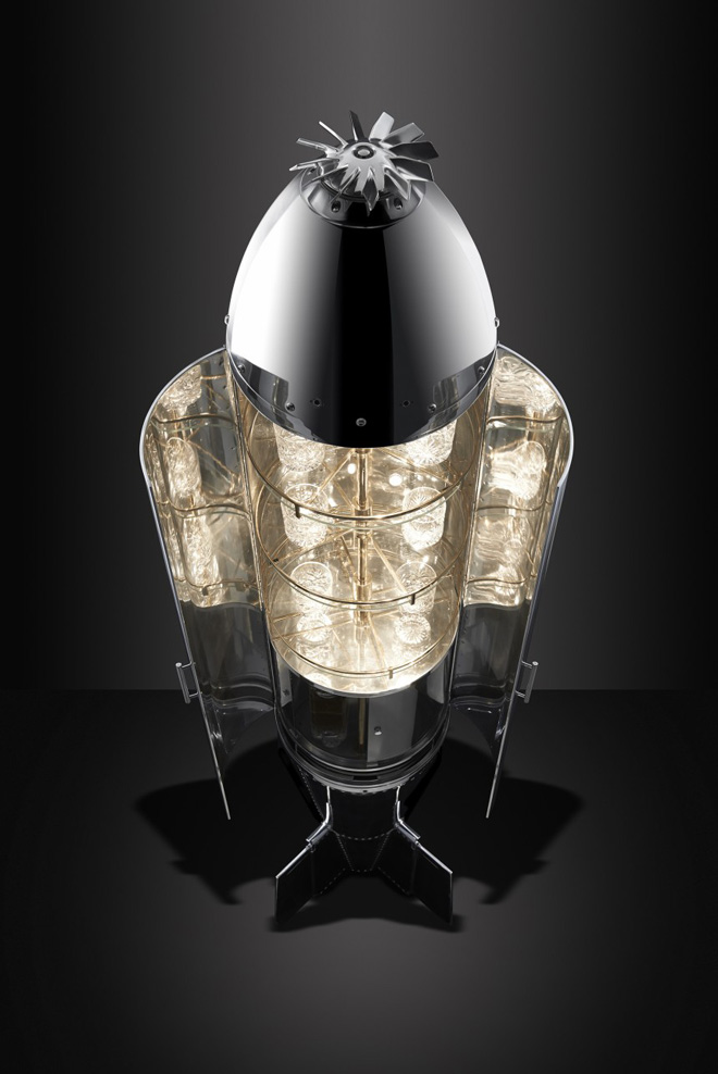 The Cluster Bomb Drinks Cabinet by Fallen Furniture