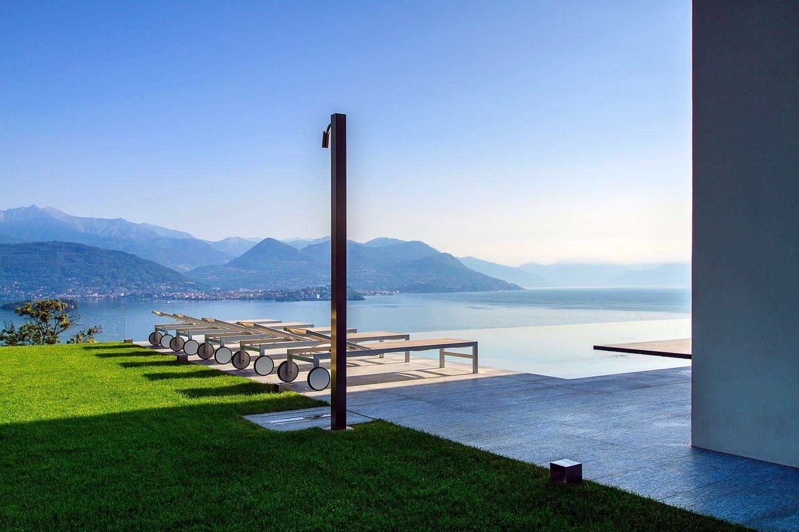 Villa Camilla in Stresa, Italy by Roberta Manessi