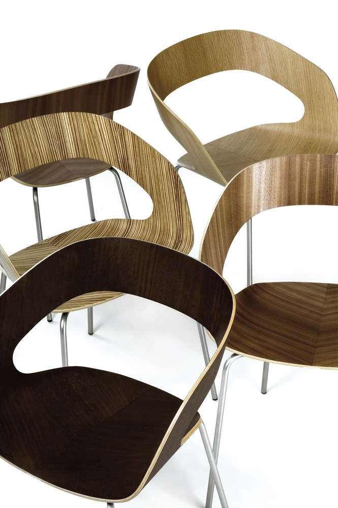 CHAT Dining Chair by Plycollection