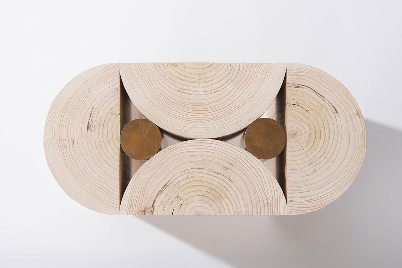 Geometry Stool by Koichi Futatsumata