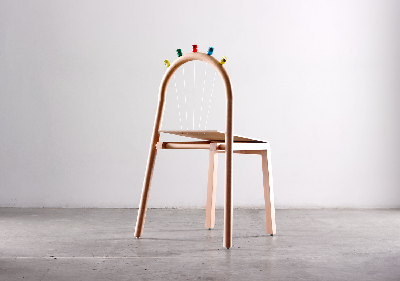 Josie Chair by Mathery Studio