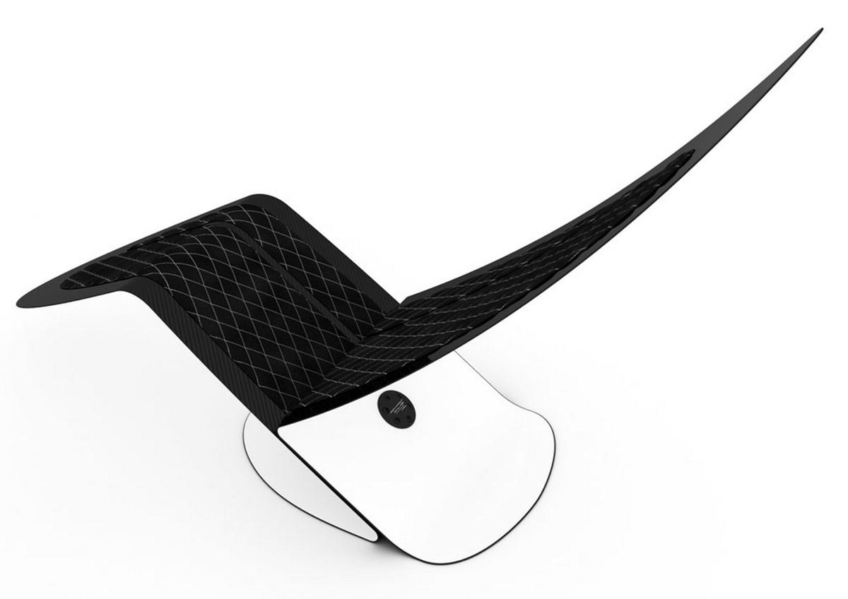 Carbon Fiber Chair Marea Carbon Fiber Lounge Chair By Jules Sturgess Sohomod Blog