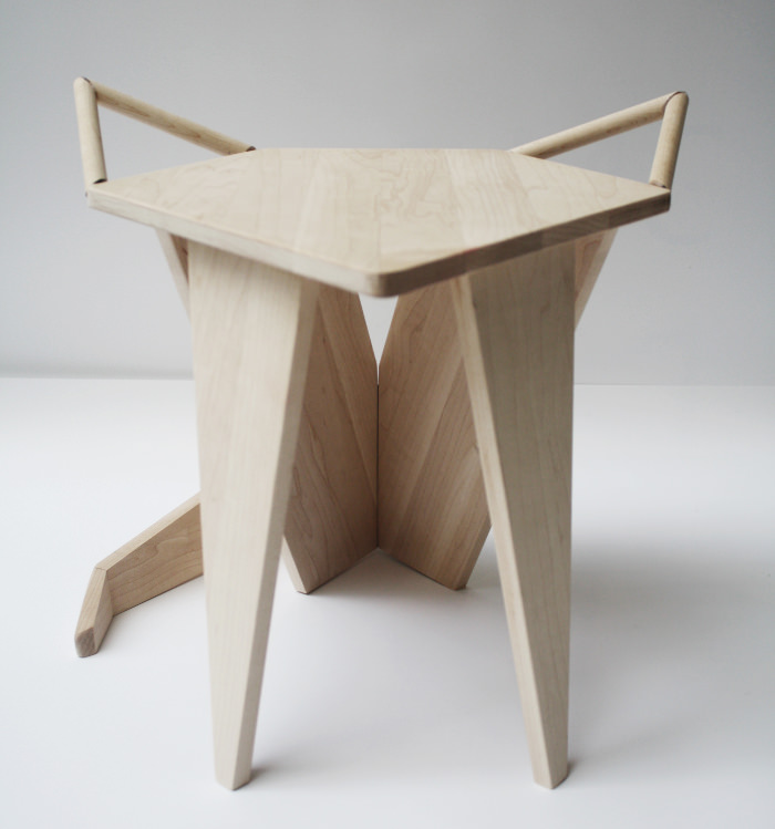 Mikkel Stool by Iselin Lindmark
