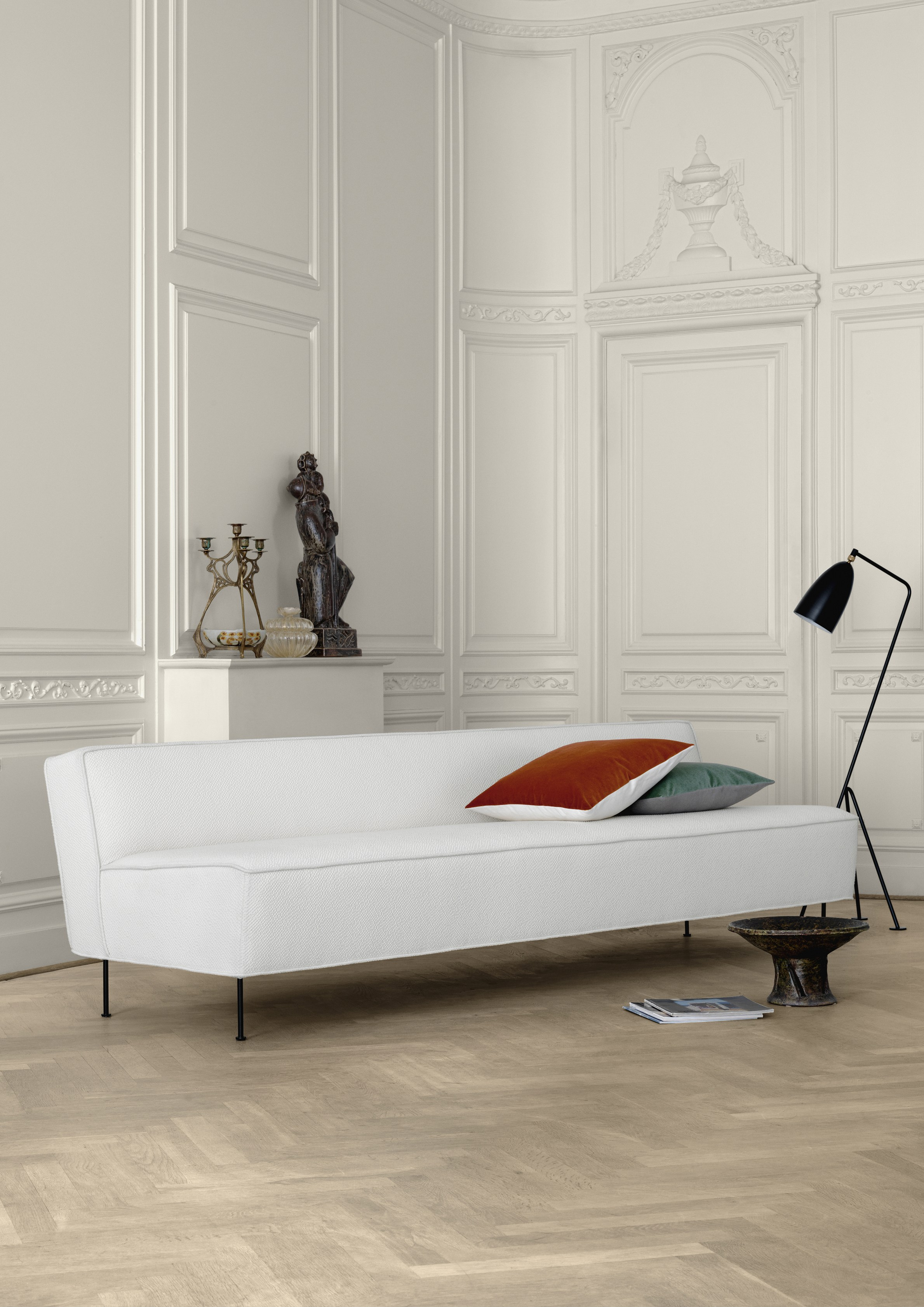 Modern Line Sofa by Greta Magnusson Grossman for GUBI