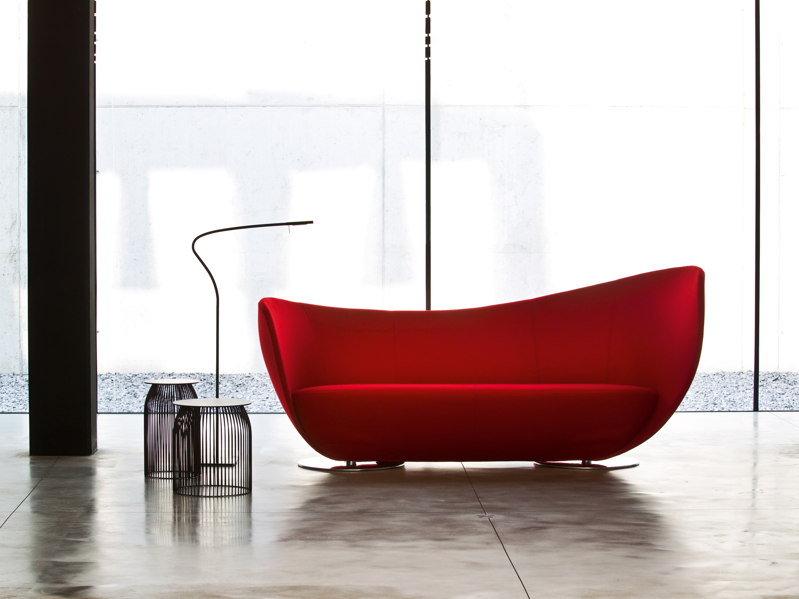 Mon Coeur Sofa by Peter Harvey for La Cividina