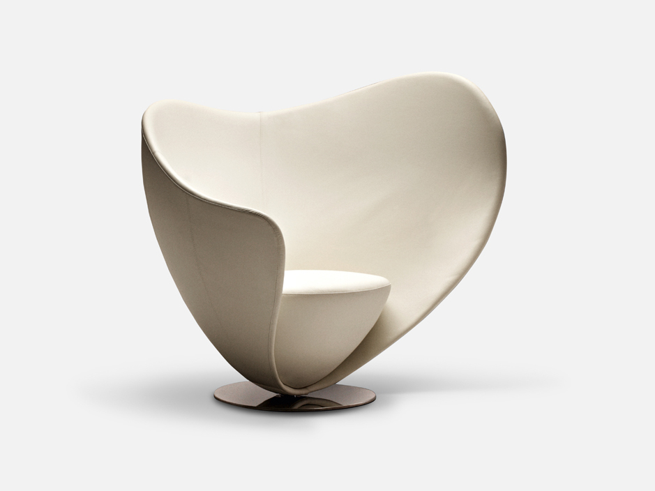 Mon Coeur Armchair by Peter Harvey for La Cividina