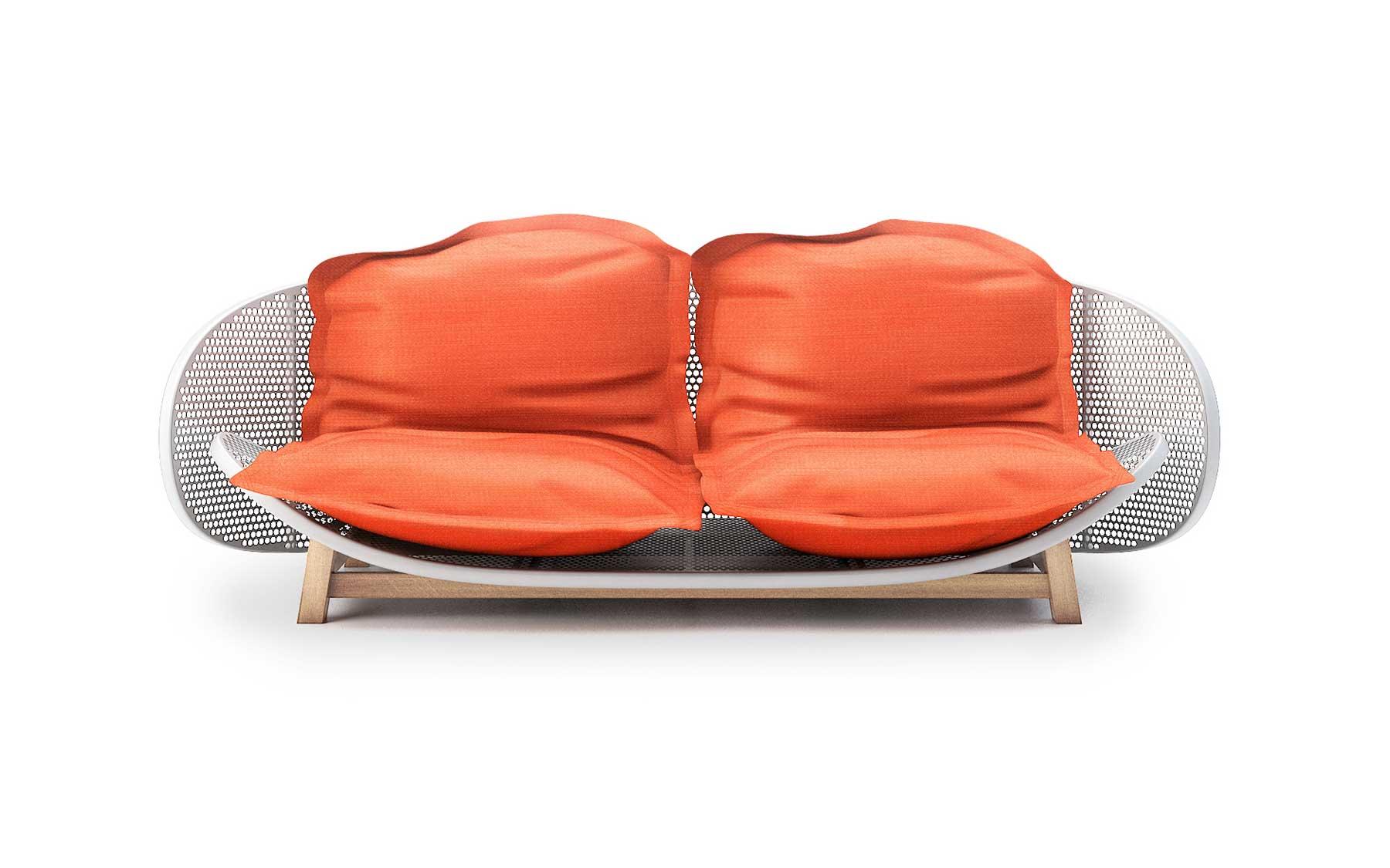 OUFS Sofa by Alexandre Boucher