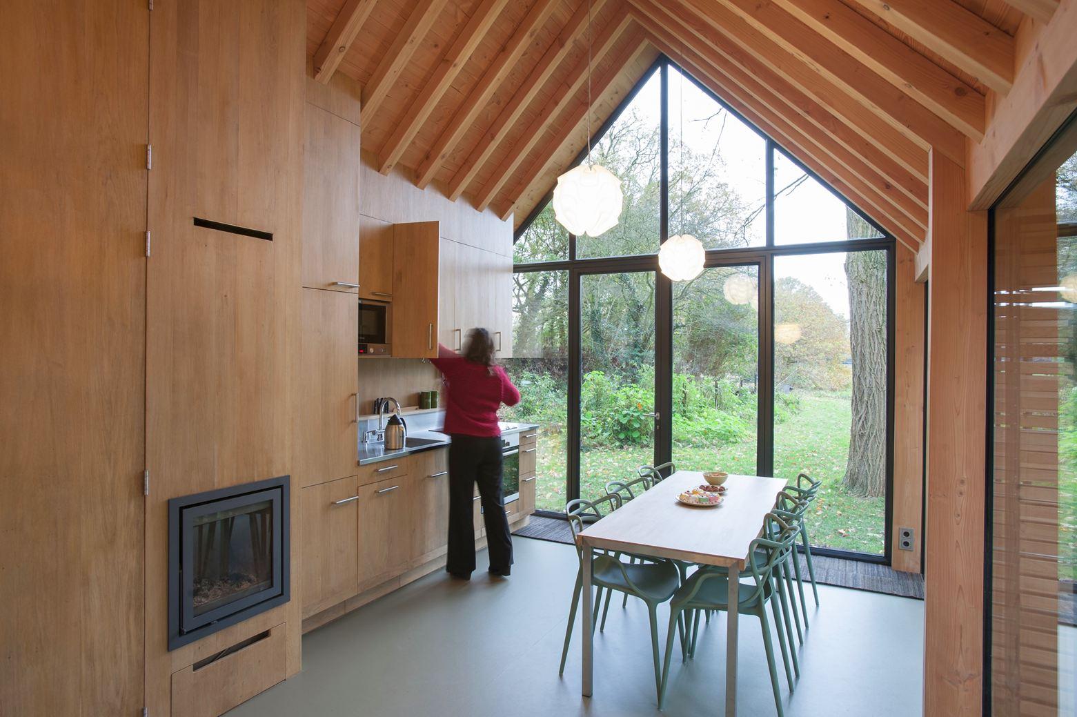 Recreation House in Utrecht, Netherlands by Zecc Architecten