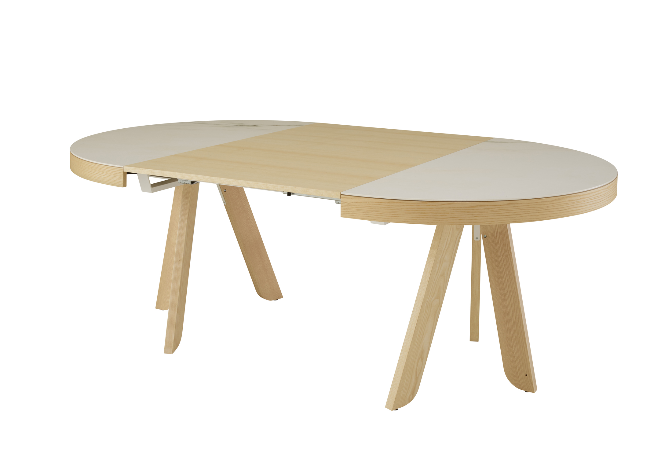 Satori dining table by delo lindo for ligne roset for Table yoyo ligne roset