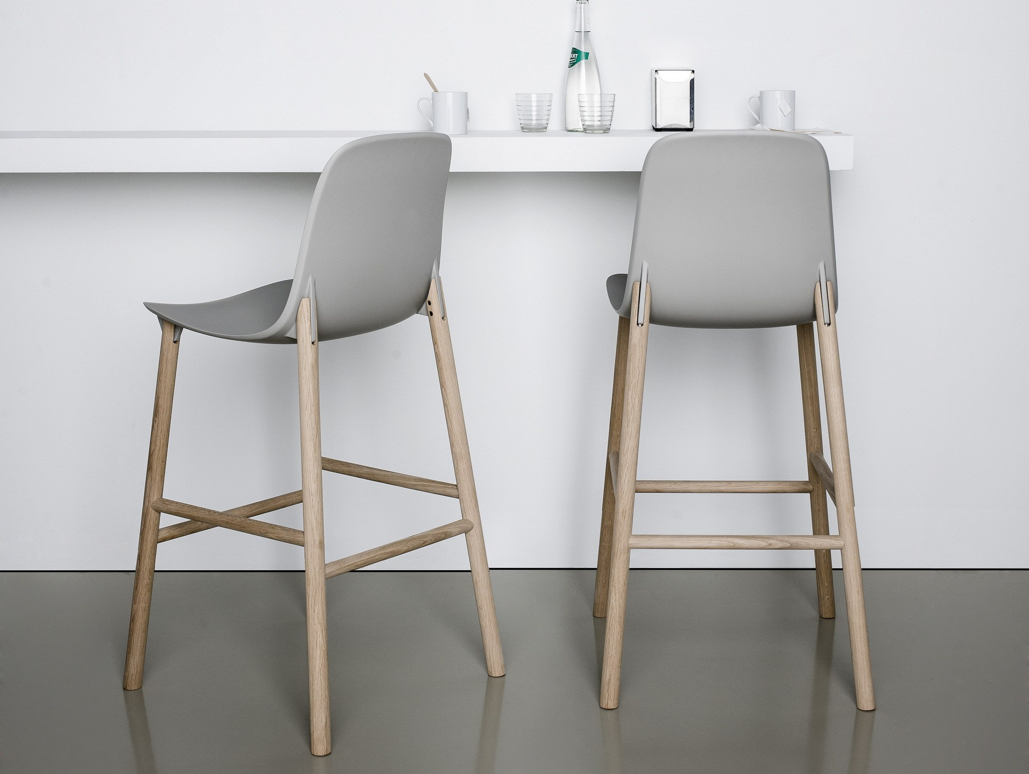 Sharky Stools by Neuland Industriedesign for Kristalia