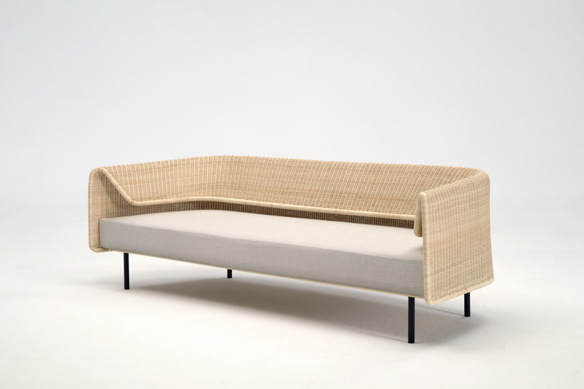 Wrap Sofa by Hiroomi Tahara for Yamakawa Rattan