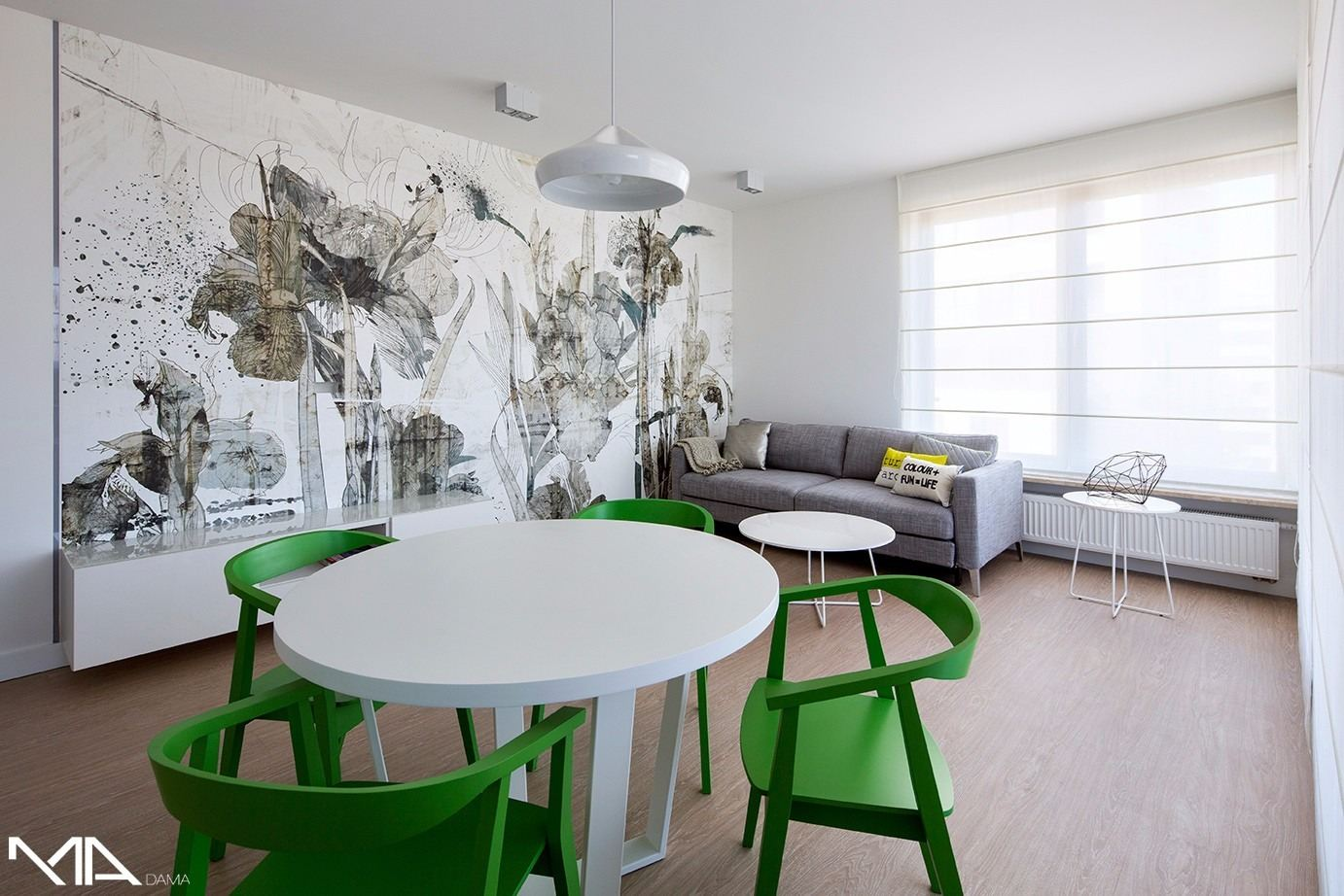 Apartment 50 in Warsaw, Poland by Madama