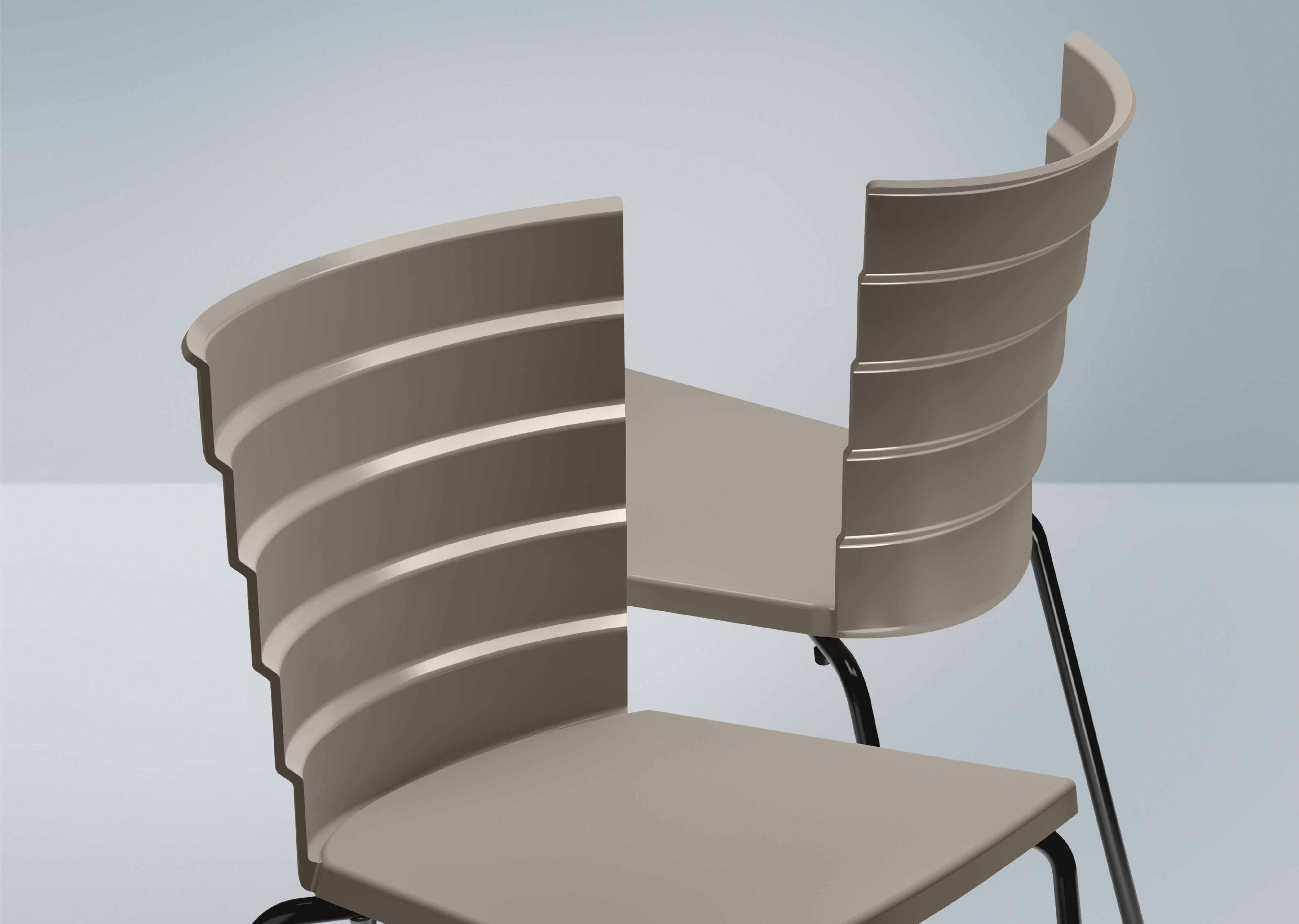 Lovely Bikini Dining Chairs By Marc Sadler For Metalmobil