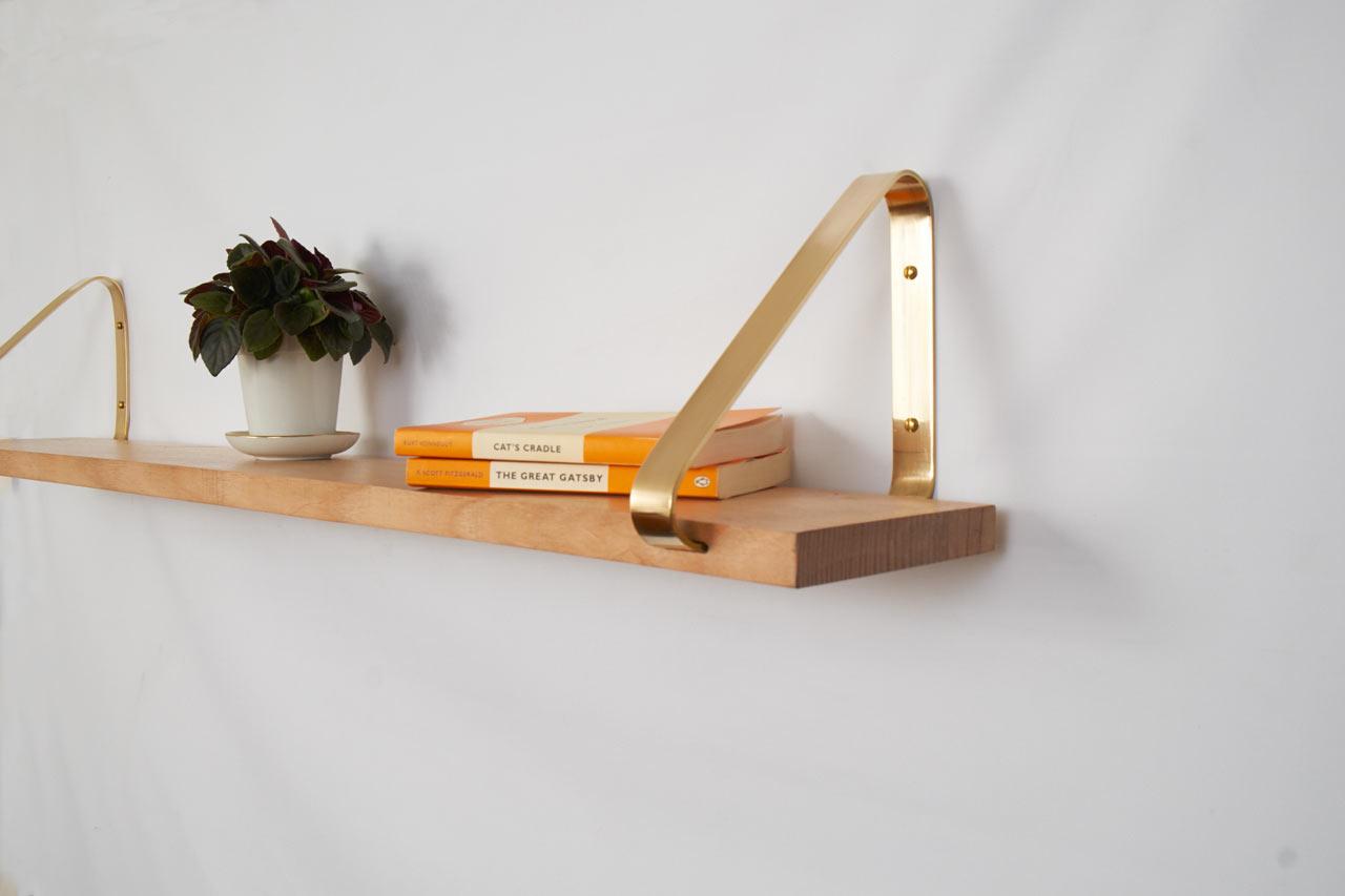 Brass Shelf by Joska & Sons