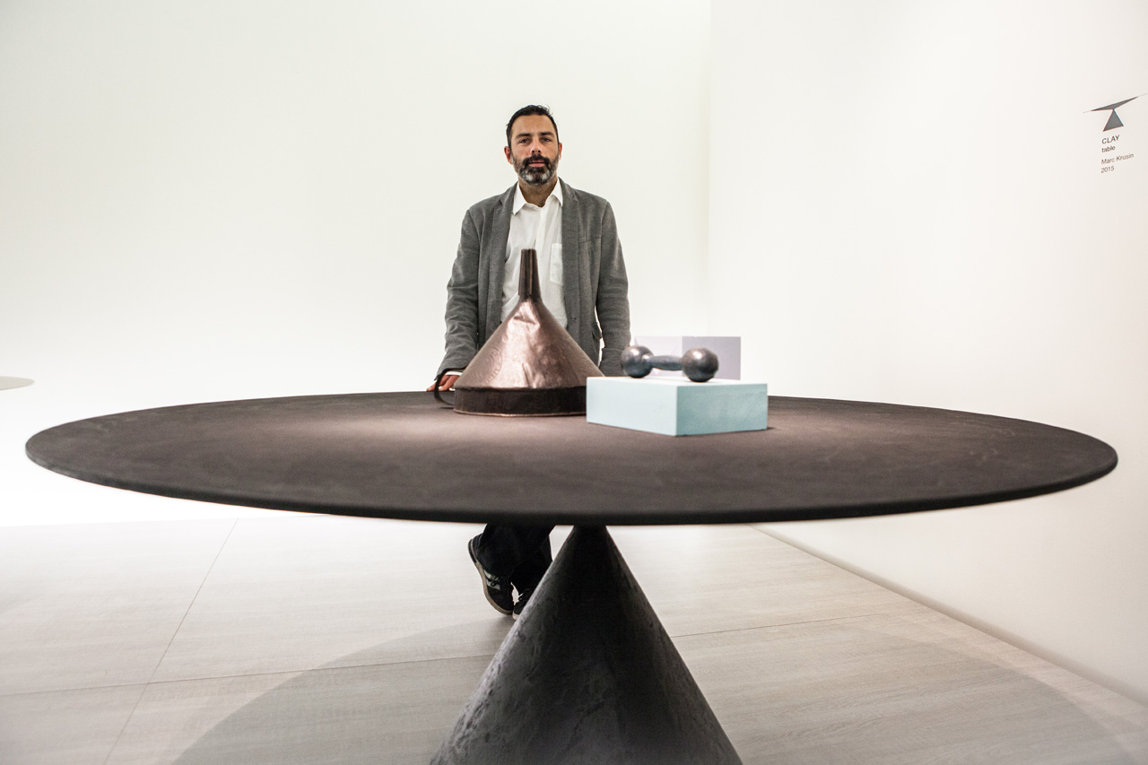 Clay Dining Table by Marc Krusin for Desalto