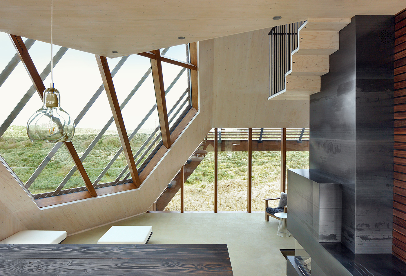 Dune House in Terschelling Island by Marc Koehler Architects