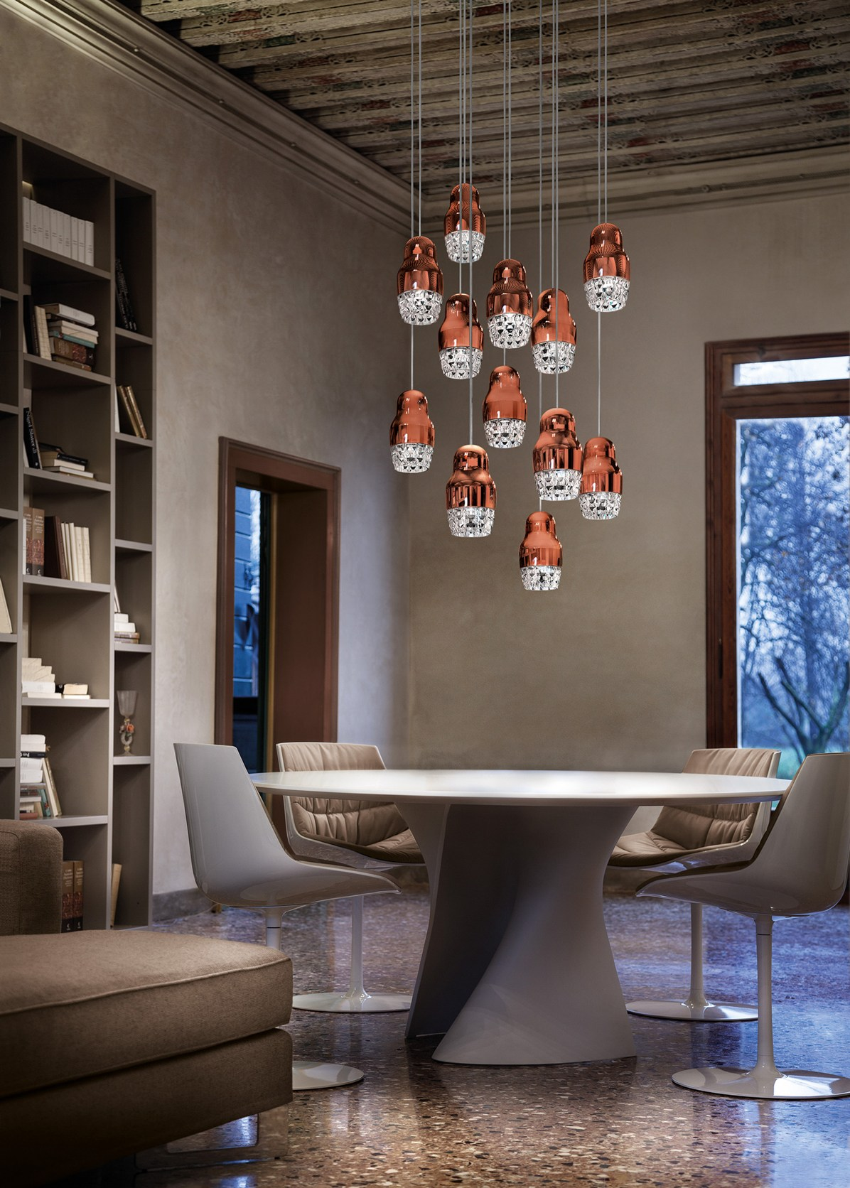 Fedora Hanging Lamps by Dima Loginoff for Axo Light
