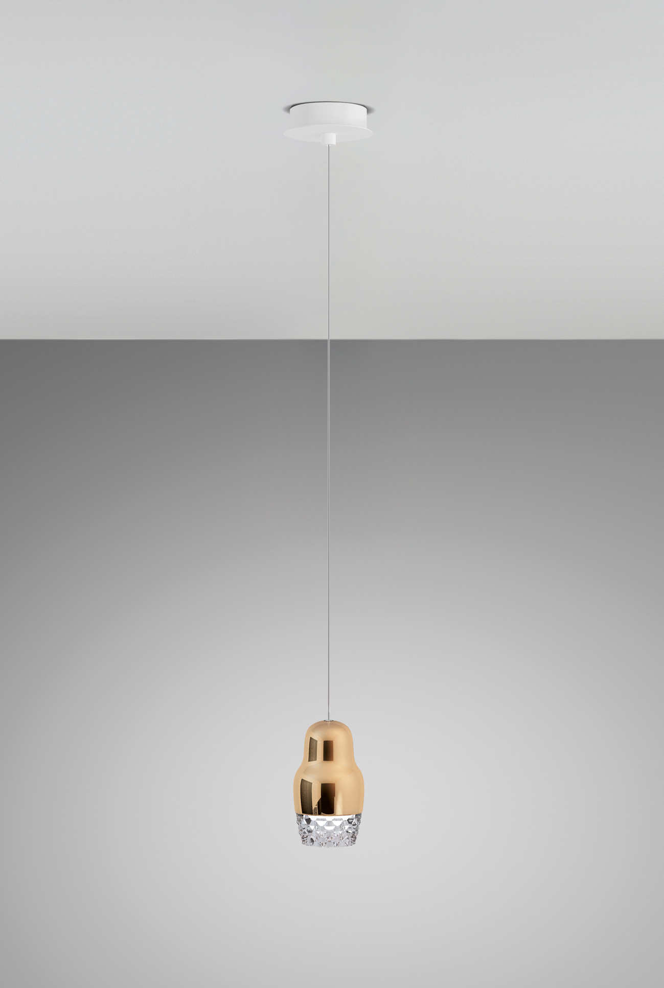 Fedora Hanging Lamp by Dima Loginoff for Axo Light
