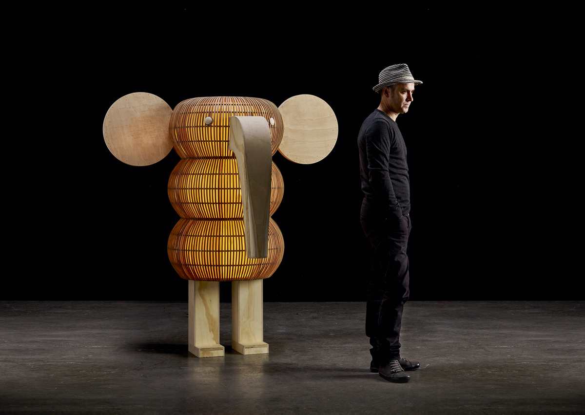 Elephant by Isidro Ferrer for LZF