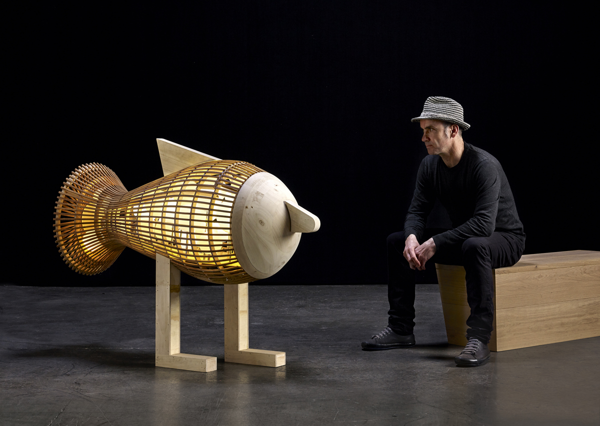 Fish by Isidro Ferrer for LZF